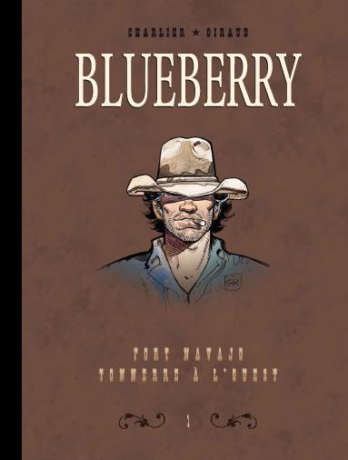 Blueberry intégrale avec le journal