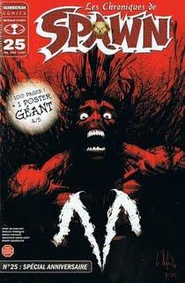 Chronique comics: Les chroniques de Spawn # 25