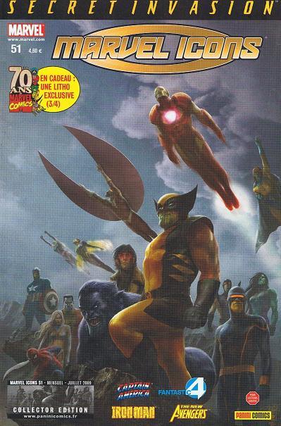 Chronique comics: Marvel Icons # 51