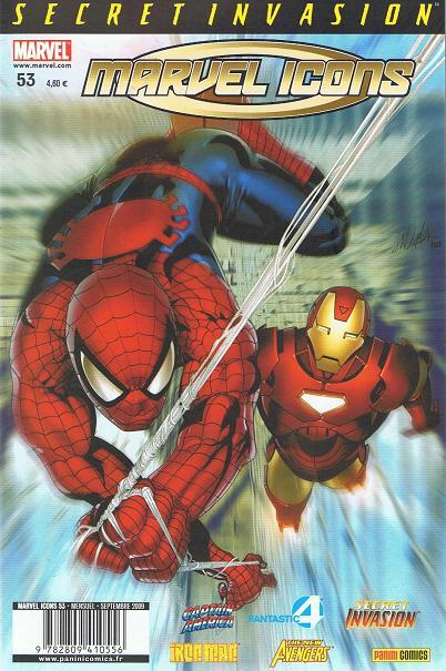 Chronique comics: Marvel Icons # 53