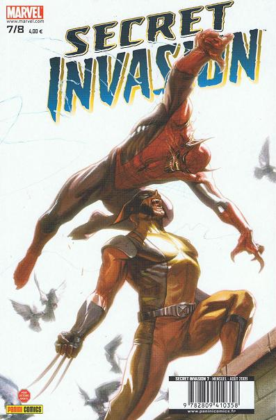 Chronique comics: Secret Invasion # 7