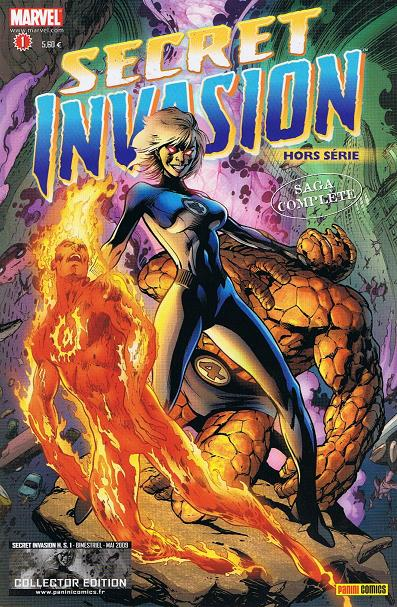 Chronique comics: Secret Invasion HS # 1