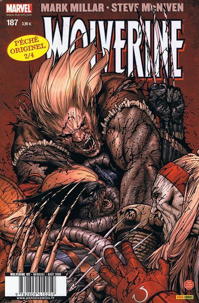 Chronique comics: Wolverine # 187