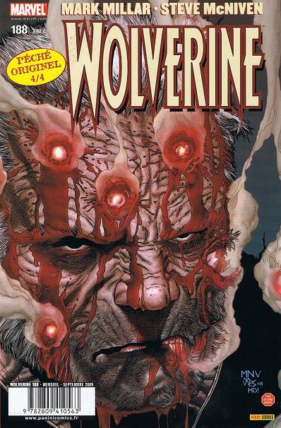 Chronique comics: Wolverine # 188